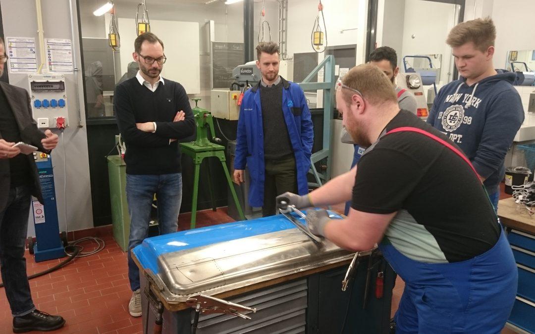 Aluminiumbleche – wie beult man sie aus ?