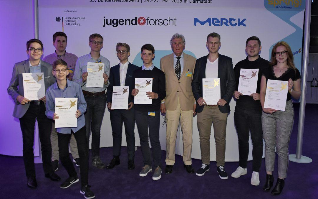 Jugend forscht Bundeswettbewerb 2018